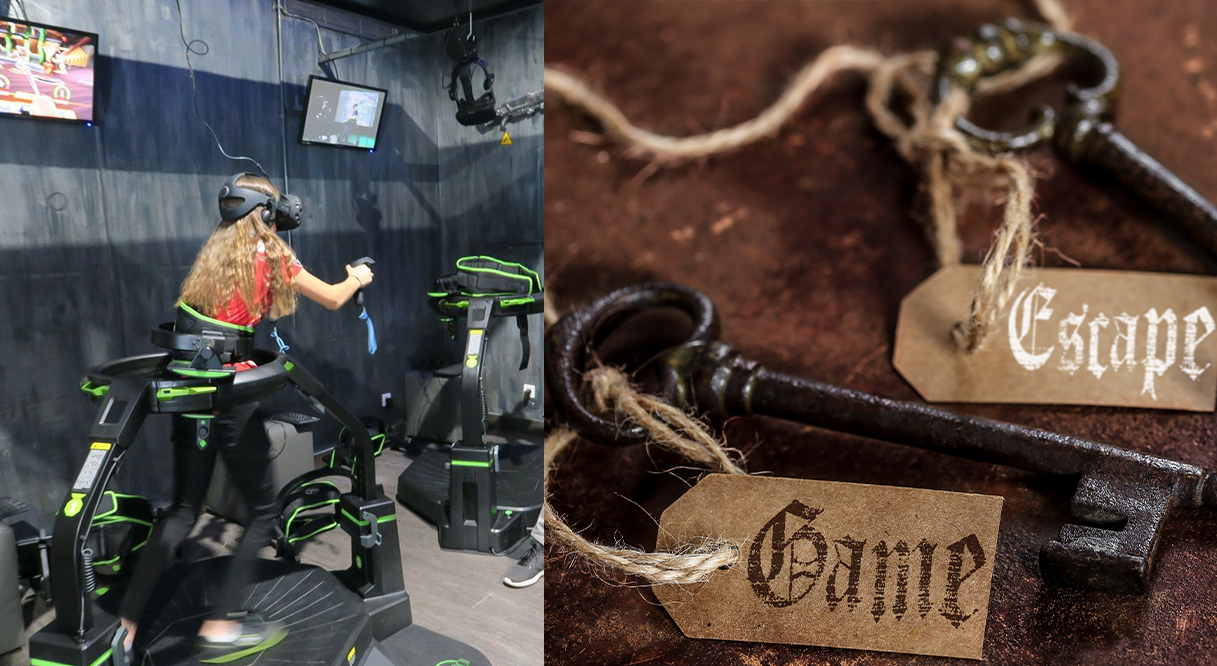 realite virtuelle escape game reservation en ligne